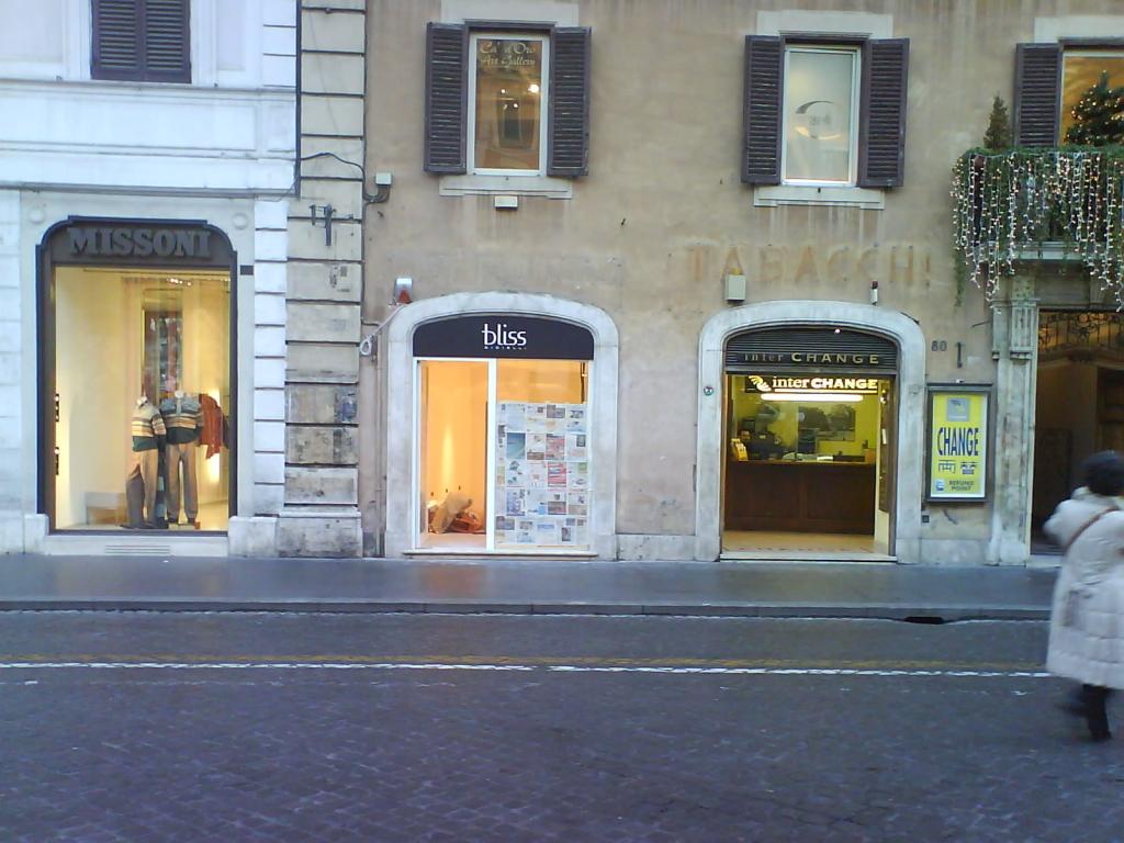 Negozio in Roma Piazza di Spagna