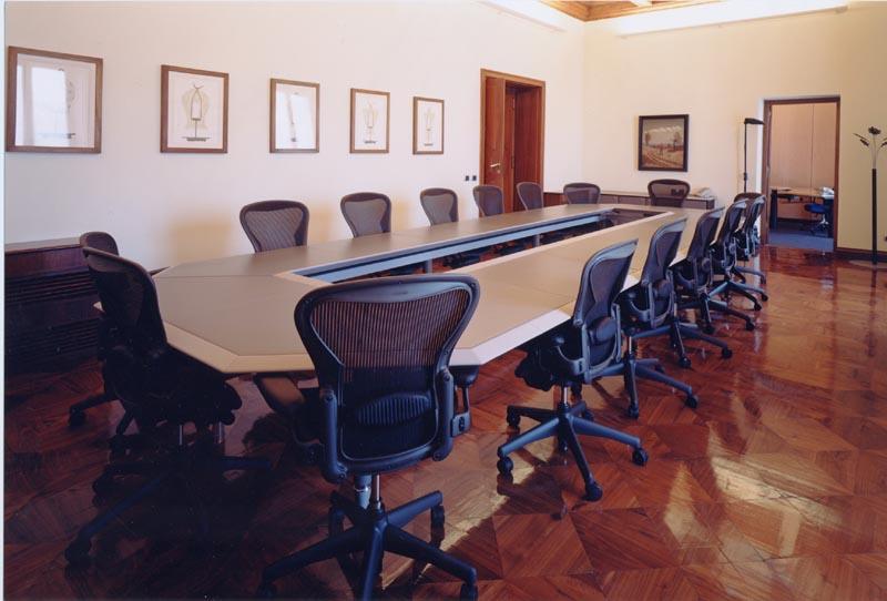 sala riunioni olivetti roma